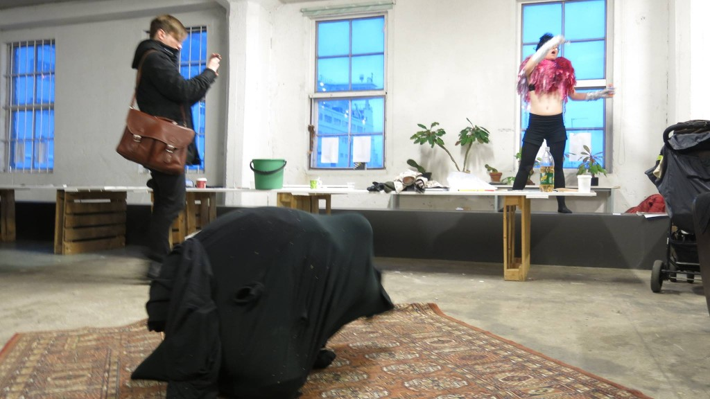 Taidemuotinäytös 5.1.2014 (Kuva: Veikko Björk)