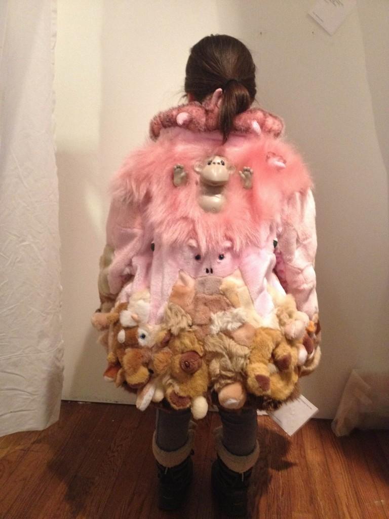 Stuffed Animal Fur Coat by Kaarina Haka