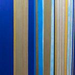 Anna Broms, Pause within a pause, 2018, akryyli, öljy ja mehiläisvaha pellavalle, 200 x 170 cm