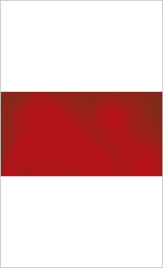 Brian Gaman: Untitled (Red), Ink jet print, 88 x 44 inches