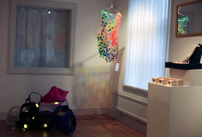 Pia Männikkö: Brief Lights; Kasper Muttonen: Sunset costume (photo Marjo Levlin)