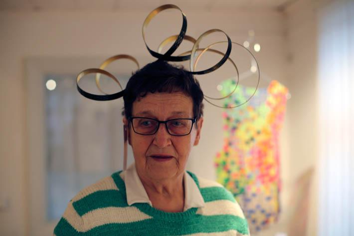 Mimosa Pale: Rollercoaster headpiece (kuva Marjo Levlin)