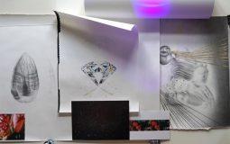 Henni Kitti: Teoksia valoa käsittelevästä sarjasta