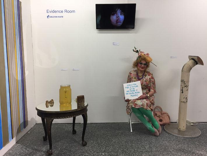 (Evidence Room - Galleria Huuto in Supermarket 2018)