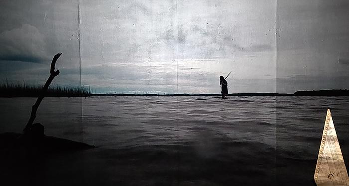 Jussi Nykänen: Sarajas, still-kuva videosta, kesto:13min 26s, 2021