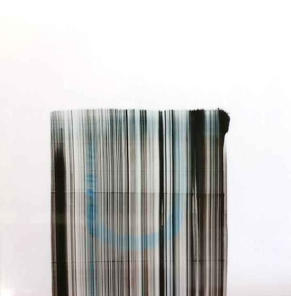 Kaija Hinkula: Matter, öljy akryylilevylle, 100x100cm, 2017