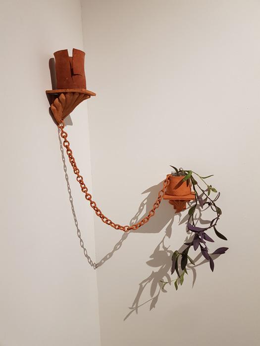 Katariina Guthwert: Hortum tentorium (2020) Helsingin punasavi, kasvi