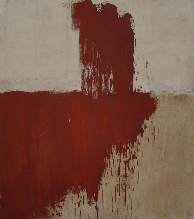 Lucilia, 2010, 110 x 92 cm