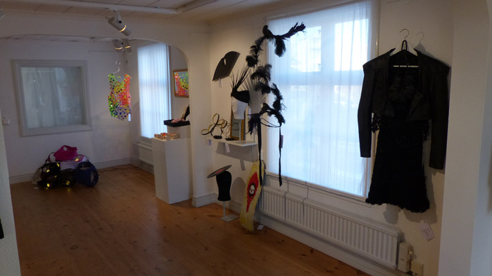 Boutique Art Couture in Gislaveds konsthall