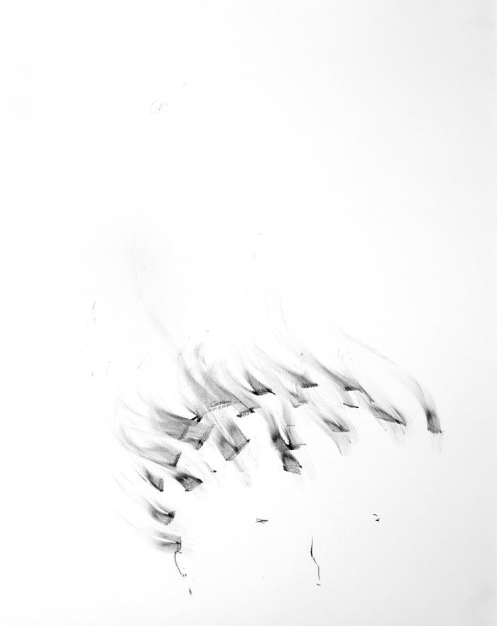 Piia Kokkarinen: Hahmottuva, 65 x 50 cm