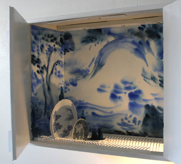 Satu Rautiainen: Blue Afternoon Cupboard