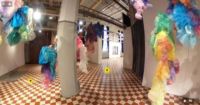 Virtual tour in Kaarina Haka's, Kirsti Tuokko's, Miia Rinne's and Marja Saleva's exhibitions