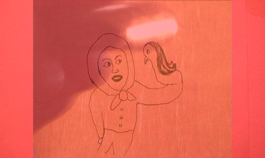 Anja Helminen: Hih, 2008, dvd-video, kesto 1 min