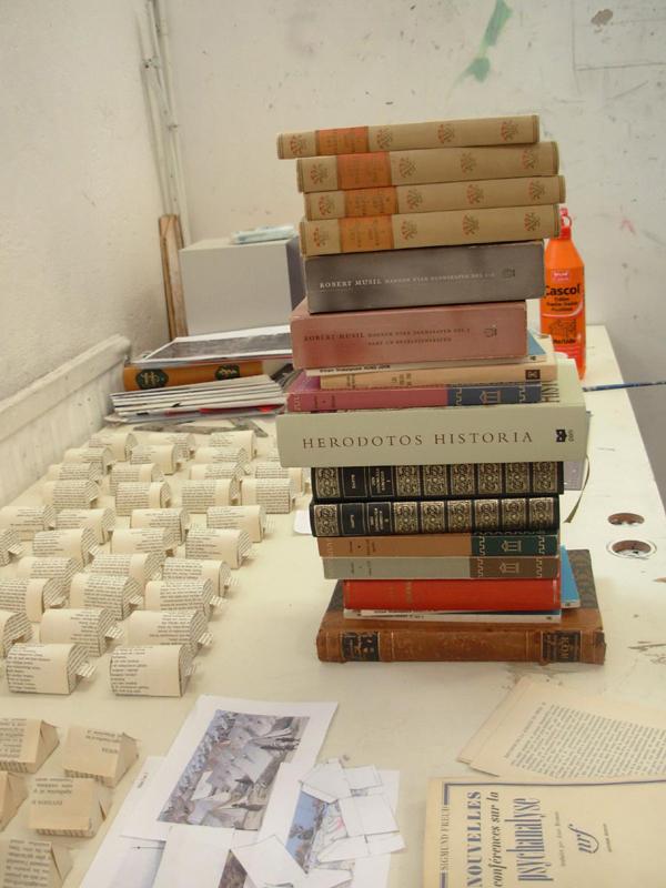 Susanne Högdahl Holm: Brechts bibliotek