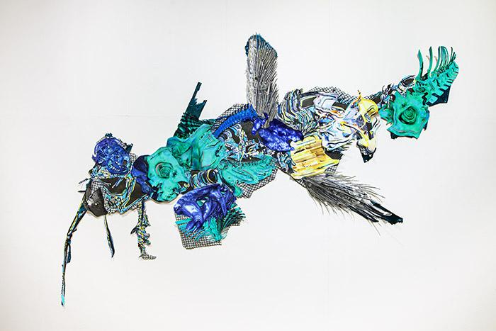 Christelle Mas, Galleria Huuto 2021, photo Vesa Vehviläinen