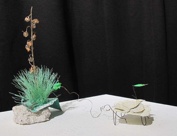 Elina Strandberg: Heinäveistoksia