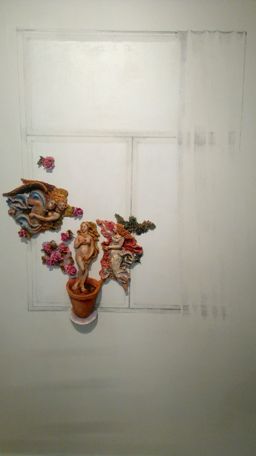 Hanna Saarikoski: Window, and Pauliina Turakka Purhonen: Venus with Roses