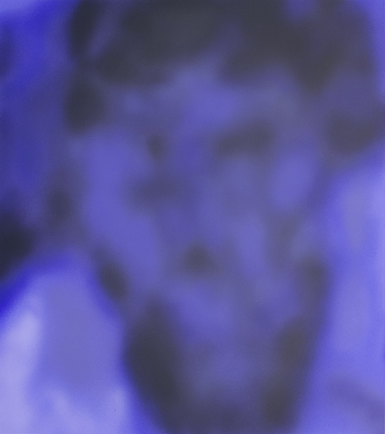 Head 8, acrylic on canvas, 180x160 cm, 2014