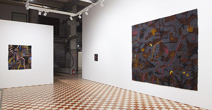 Heidi Lahtinen, Galleria Huuto 2021, photo Vesa Vehviläinen