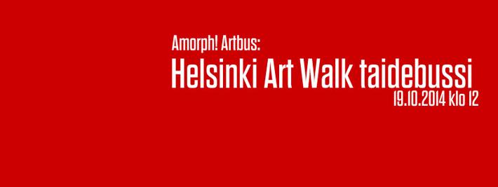 Helsinki Art Walk by bus