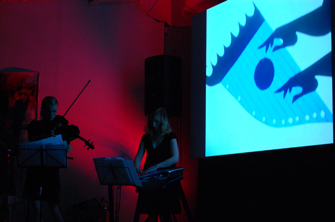 Kalevala & Stringpurée band live