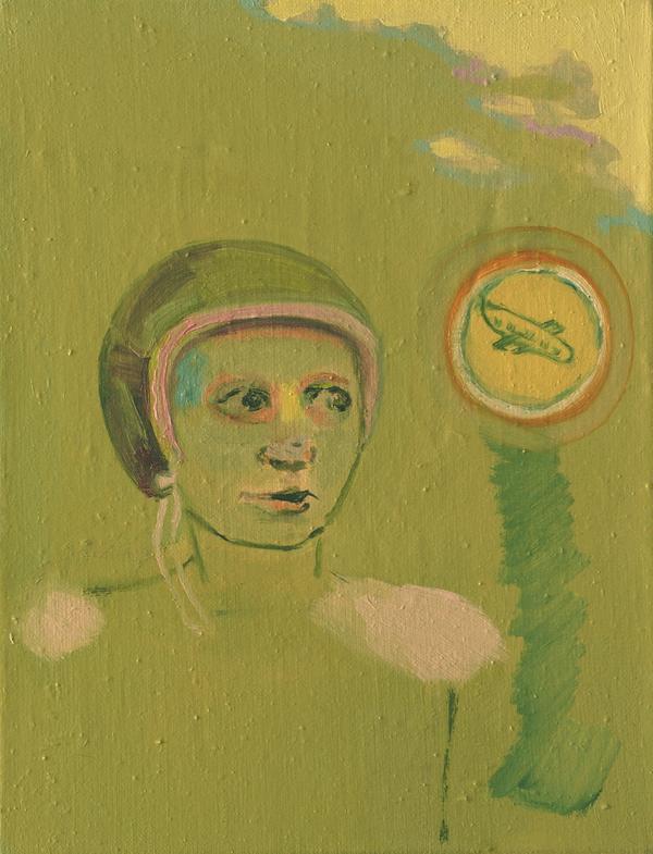 Hanna Vesterinen: Suojakypärä, 35x27 cm, 2005