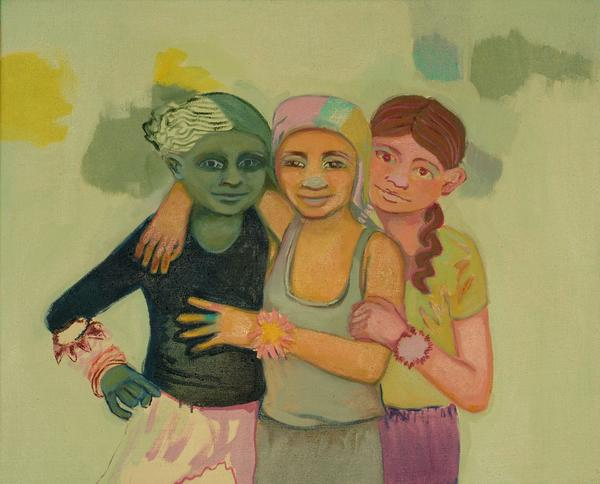 Hanna Vesterinen: Happy Together, 65x80 cm, 2005