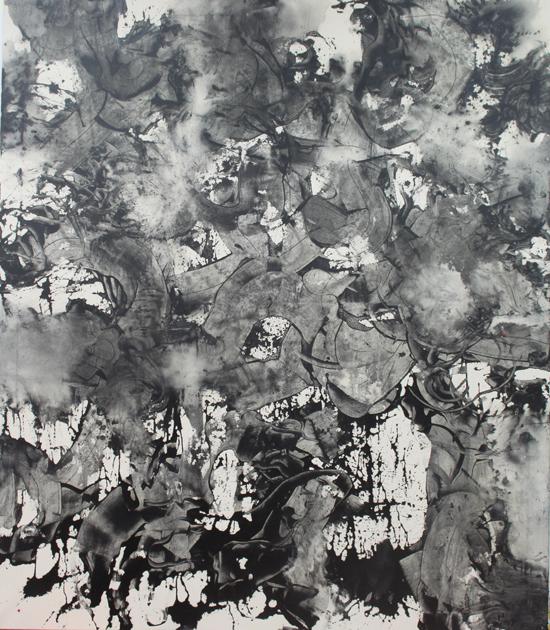 Maaria Oikarinen: Sulamith, akryyli 200x174cm, 2015