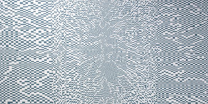 Matti Rantanen, nimetön, akryyli mdf-levylle, 100cm x 200cm, 2014