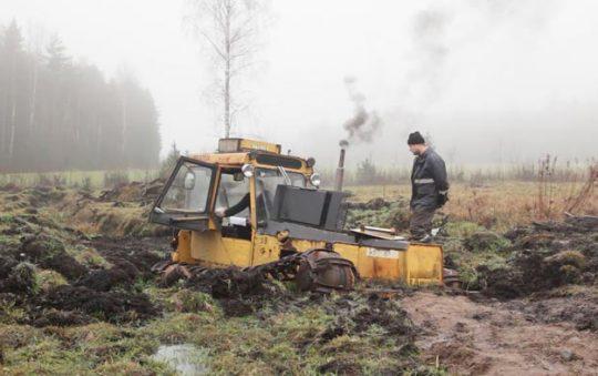 Mikko Haiko: stillkuva videoteoksesta Valmet.Toivon ja epätoivon manuaali / Valmet. The Manual of Hope and Despair (2018)