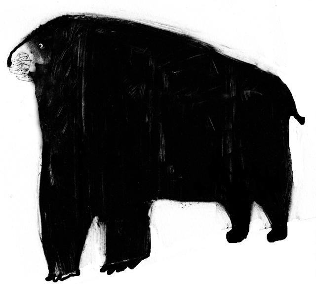 Musta eläin