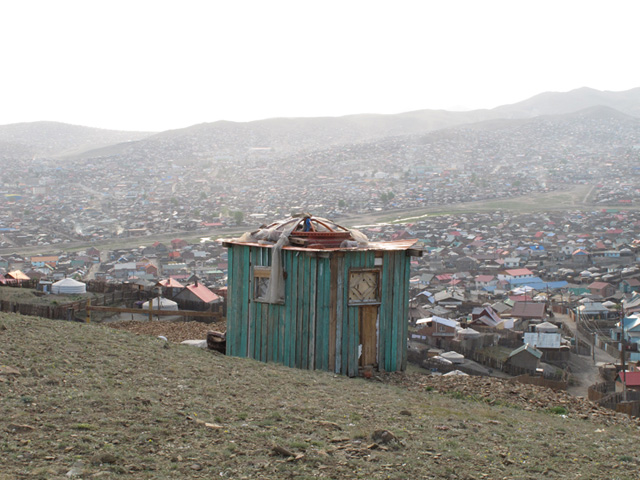 Ulaanbaatarin jurtta-alueella