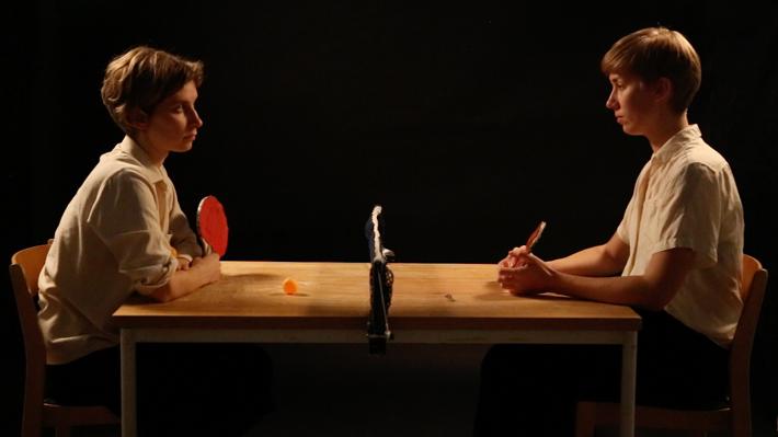 Annika Sohlman ja Maija Mikkola, Pingistä, hd video, 2015