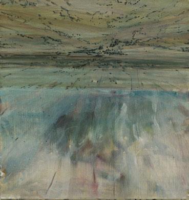"""Reija Palo-oja: """"Kattona sillä on taivas"""" (2005 - 2006), öljy kovalevylle"""