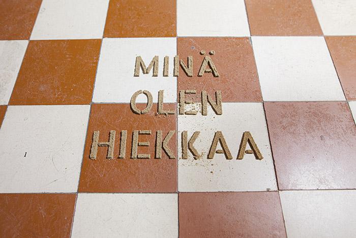 Timo Rissanen: Koti Nummelanharjun hiekka, photo Vesa Vehviläinen