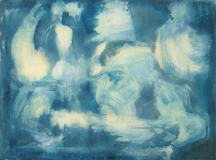 Salt Water, 110x80 cm