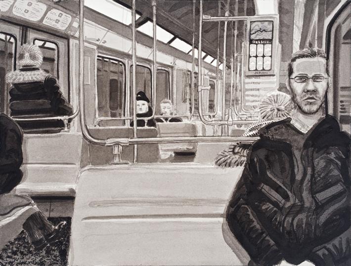 Taiteilija Muhammad metross