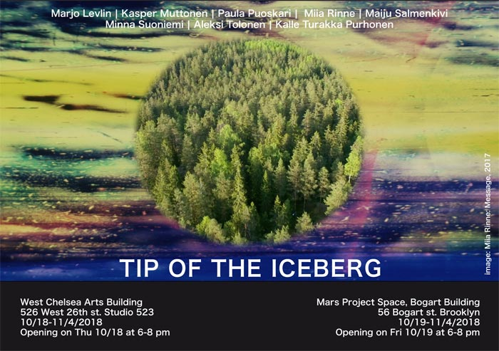 Tip of the Iceberg (Image: Miia Rinne)
